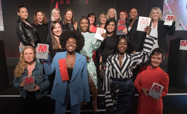 Entries now open for Music Week Women In Music Awards 2018