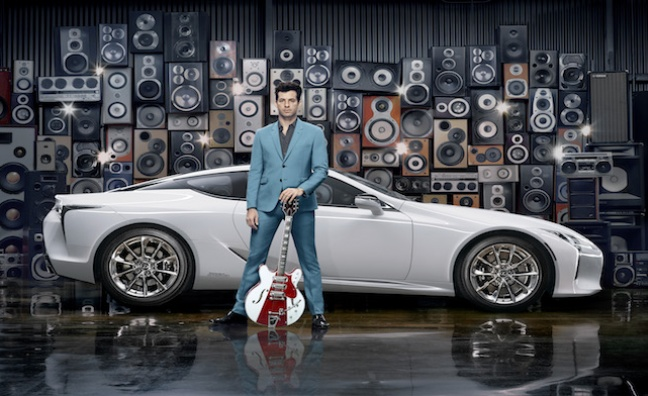Mark Ronson partners with Lexus to launch the new LC flagship coupe