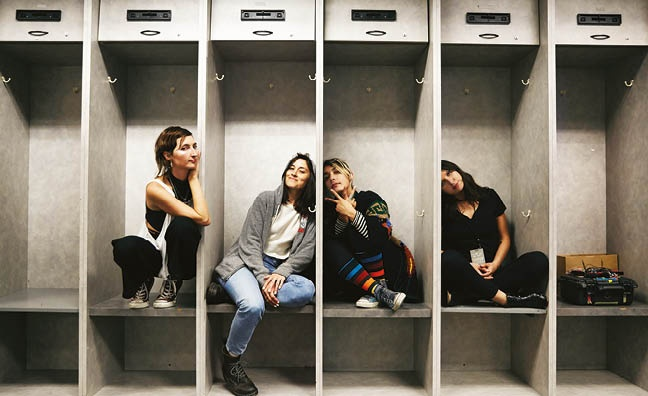 'They are one of the finest bands in the world': Warpaint sign with Caroline International