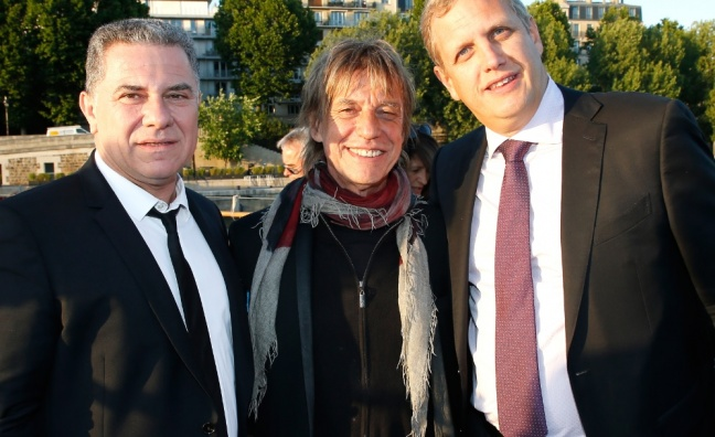 High honour for Warner Music France president
