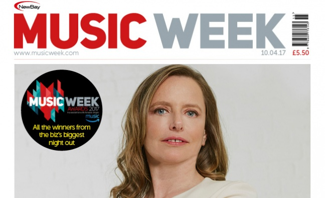 New issue of Music Week: Sarah Stennett Strat special